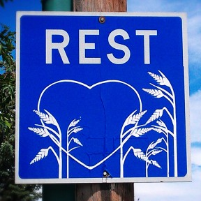 Rest Stop Heart